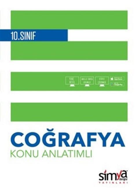 Simya Yayınları 10.Sınıf Coğrafya Konu Anlatımlı Kitabı
