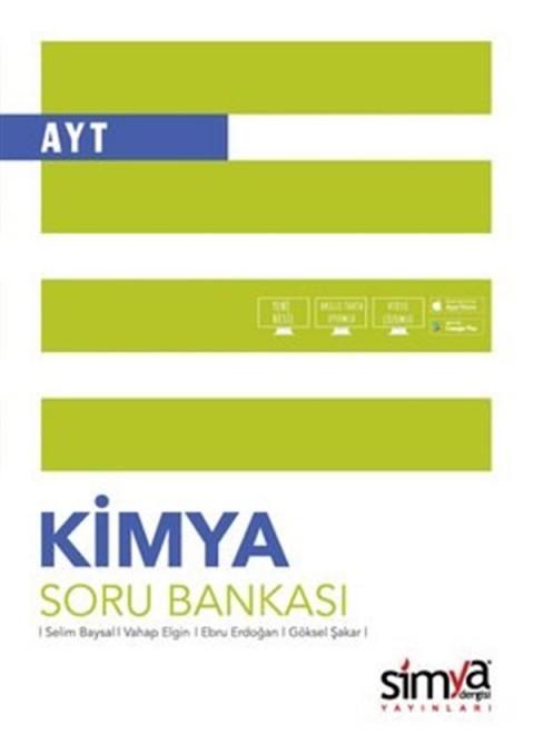 Simya Yayınları 12.Sınıf Kimya AYT Soru Bankası Kitabı