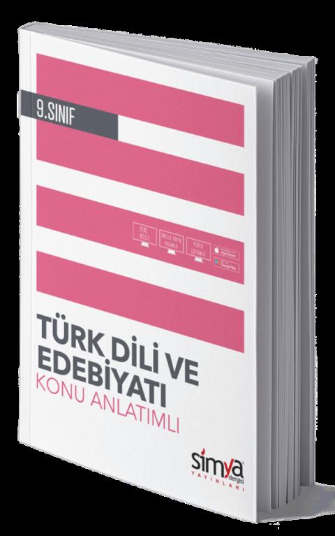 Simya Yayınları 9.Sınıf Türk Dili Ve Edebiyatı Konu Anlatımlı
