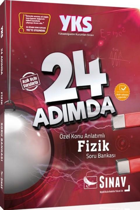 Sınav Yayınları YKS 2. Oturum Fizik 24 Adımda Özel Konu Anlatımlı Soru Bankası