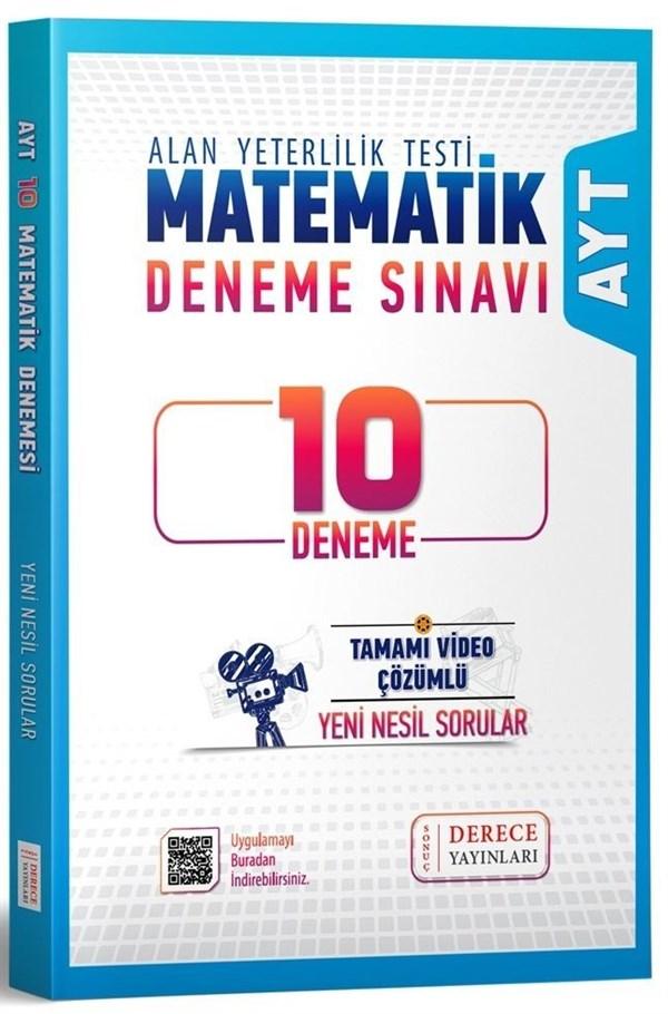 Sonuç Derece Yayınları AYT Matematik 10 lu Deneme