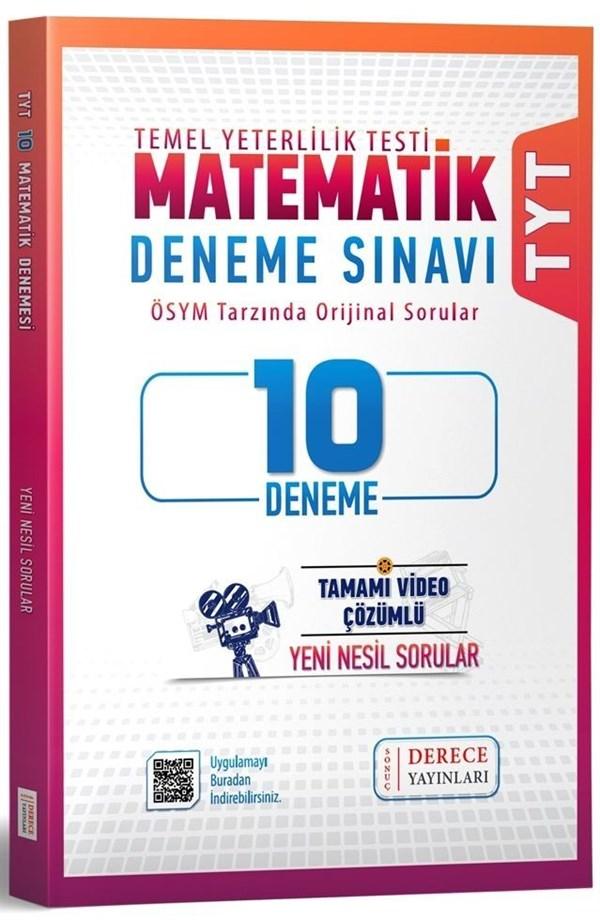 Sonuç Derece Yayınları TYT Matematik 10 lu Deneme