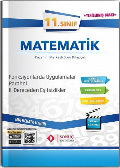 Sonuç Yayınları 11. Sınıf Matematik Fonksiyonlarda Uygulamalar-Parabol - 2. Dereceden Eşitsizlikler Soru Bankası