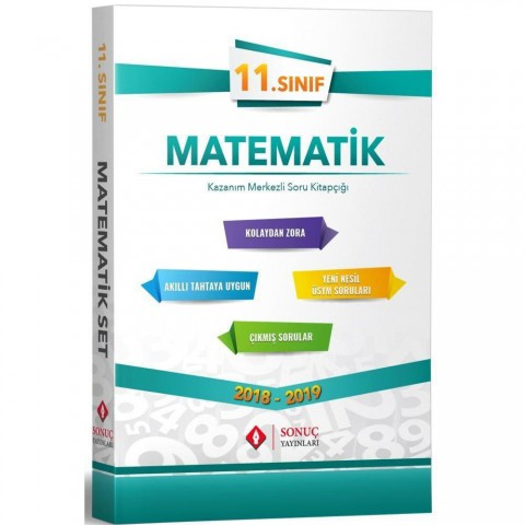 Sonuç Yayınları 11. Sınıf Matematik Modüler Set 2021