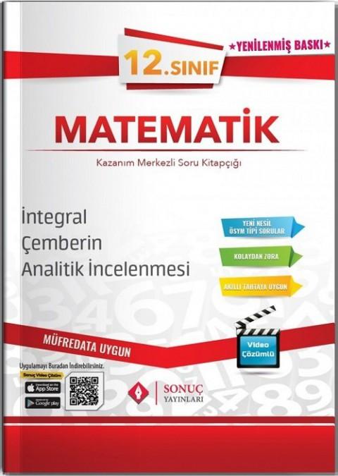 Sonuç Yayınları 12. Sınıf Matematik İntegral-Çemberin Analitik İncelenmesi Soru Bankası