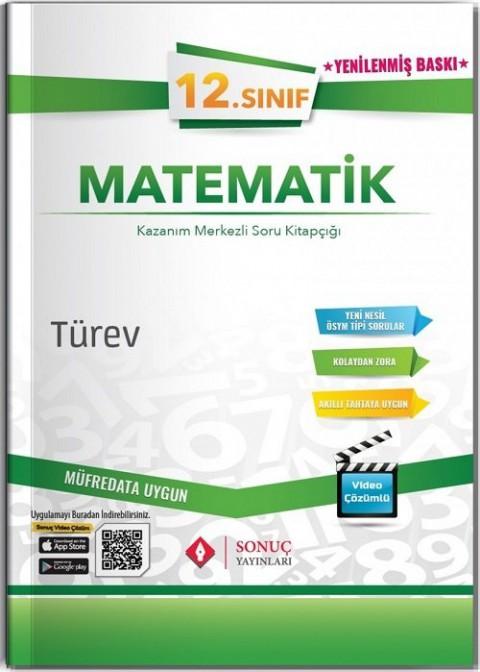 Sonuç Yayınları 12. Sınıf Matematik Türev Soru Bankası