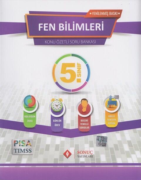 Sonuç Yayınları 5. Sınıf Fen Bilimleri Kazanım Merkezli Soru Bankası Seti