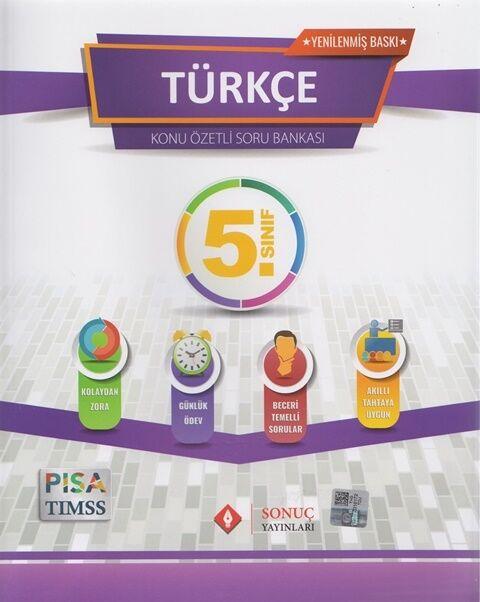 Sonuç Yayınları 5. Sınıf Türkçe Modüler Set