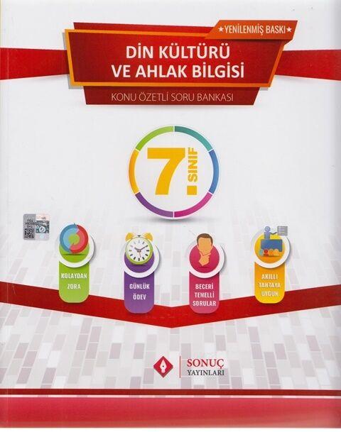 Sonuç Yayınları 7. Sınıf Din Kültürü ve Ahlak Bilgisi Konu Özetli Soru Bankası