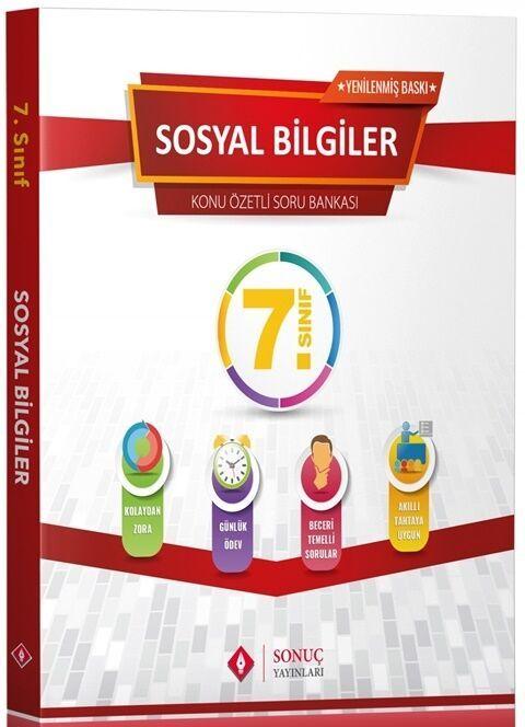 Sonuç Yayınları 7. Sınıf Sosyal Bilgiler Modüler Set