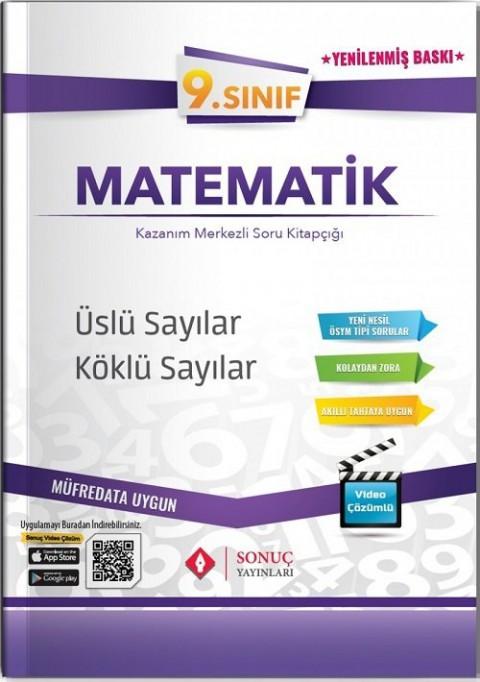 Sonuç Yayınları 9. Sınıf Matematik Üslü Sayılar-Köklü Sayılar Soru Bankası