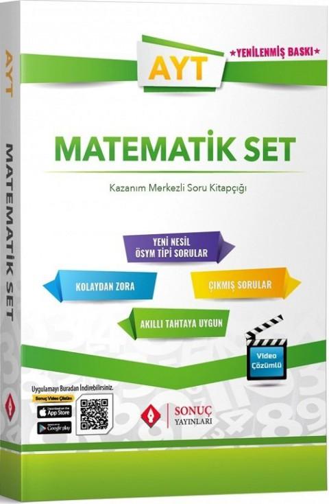 Sonuç Yayınları AYT Matematik Modüler Set Soru Bankası