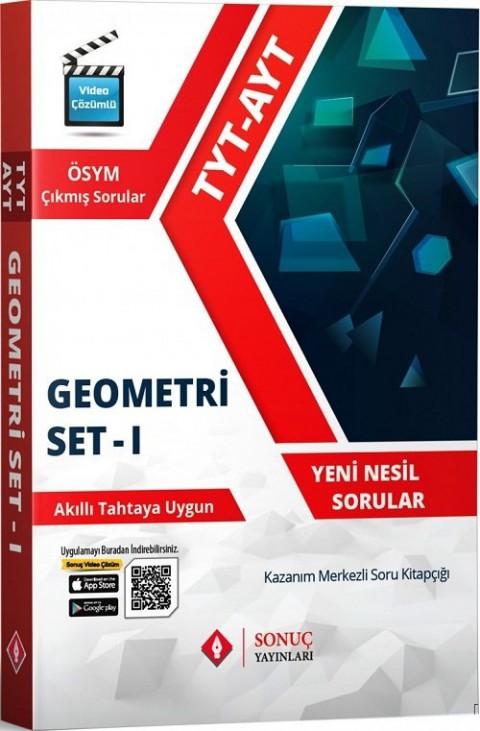 Sonuç Yayınları TYT AYT Geometri Set-1 Soru Bankası
