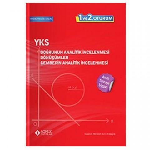 Sonuç Yayınları YKS Doğrunun Analitik İncelenmesi Dönüşümler Çemberin Analitik İncelenmesi 1. ve 2. Oturum