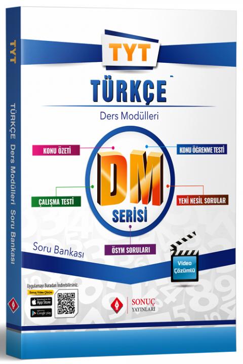 Sonuç Yayınları YKS TYT Türkçe DM Ders Modülleri Soru Bankası