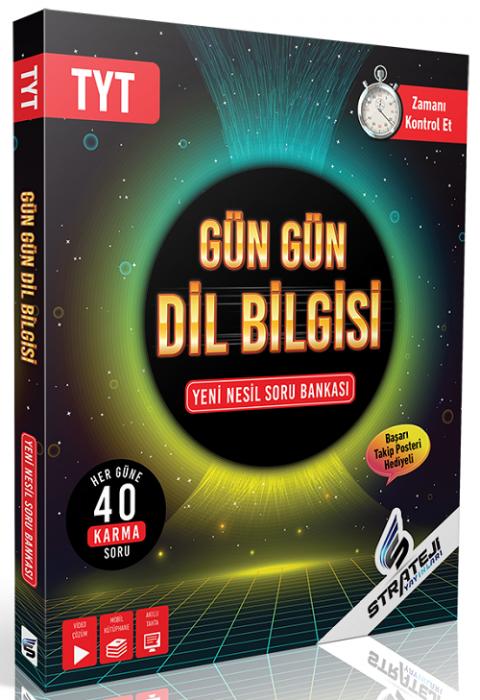 Strateji Yayınları YKS TYT Gün Gün Dil Bilgisi Soru Bankası