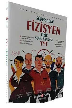 Süper Kitap Yayınları TYT Fizik Soru Bankası Fizisyen Süper Genç Serisi