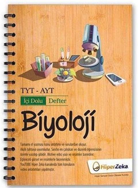 TYT AYT Biyolojii İçi Dolu Defter Hiper Zeka Yayınları