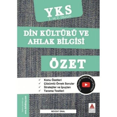 TYT AYT Din Kültürü ve Ahlak Bilgisi Özet Delta Kültür Yayınları