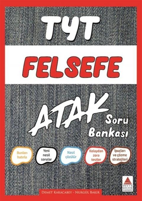 TYT Felsefe Atak Soru Bankası Delta Kültür Yayınları