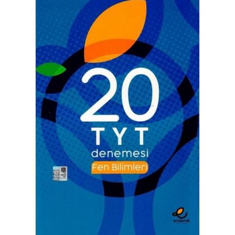 TYT Fen Bilimleri 20 Deneme Endemik Yayınları