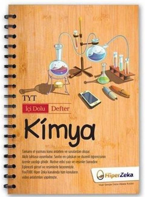 TYT Kimya İçi Dolu Defter Hiper Zeka Yayınları