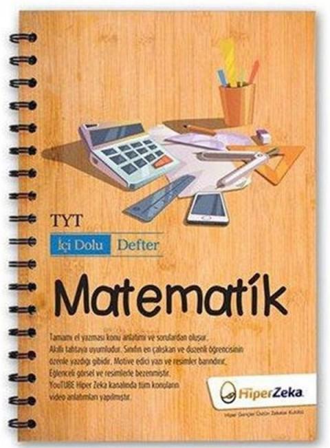 TYT Matematik İçi Dolu Defter Hiper Zeka Yayınları