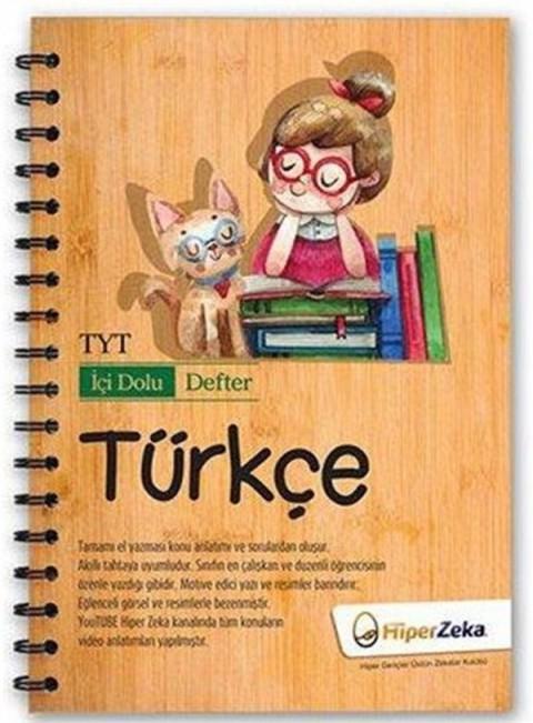 TYT Türkçe İçi Dolu Defter Hiper Zeka Yayınları