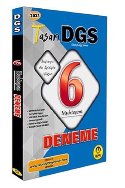 Tasarı Akademi 2021 DGS 6 Muhteşem Fasikül Deneme Tasarı Akademi Yayınları
