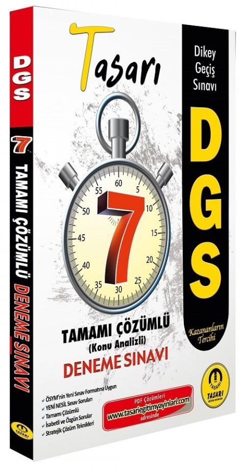 Tasarı Yayınları 2022 DGS 7 Deneme Çözümlü