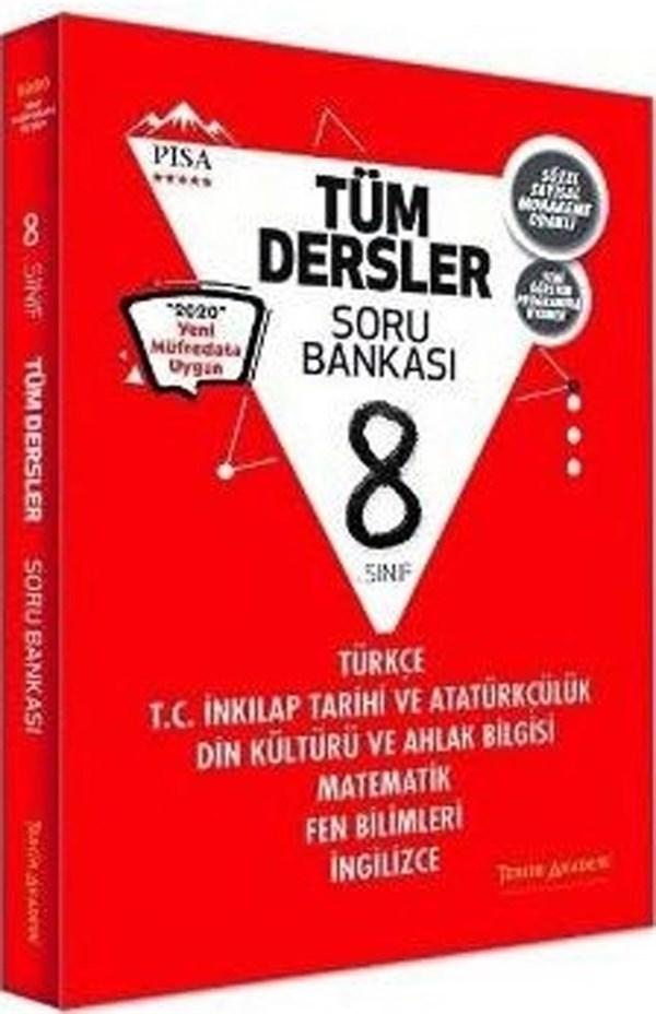 Tercih Akademi Yayınları 8. Sınıf Tüm Dersler Soru Bankası
