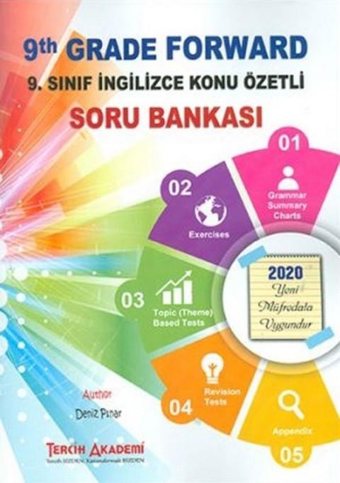 Tercih Akademi Yayınları 9. Sınıf İngilizce Konu Özetli Soru Bankası