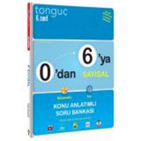 Tonguç Akademi 0'dan 6'ya Sayısal Konu Anlatımlı Soru Bankası
