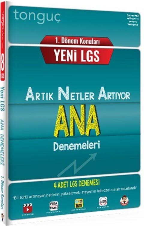 Tonguç Akademi 8. Sınıf LGS 1. Dönem Konuları ANA 4 Deneme