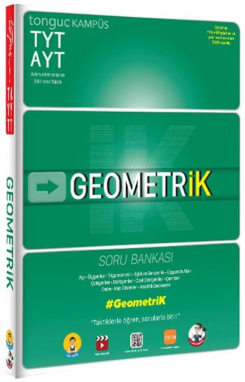 Tonguç Akademi TYT AYT Geometrik Soru Bankası