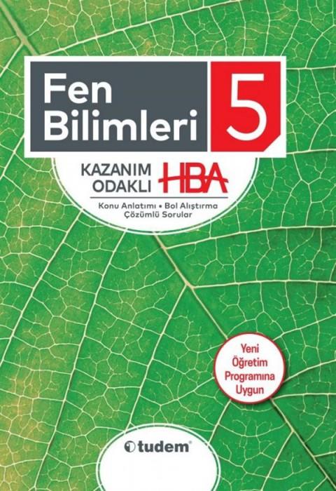 Tudem Yayınları 5. Sınıf Fen Bilimleri Kazanım Odaklı HBA