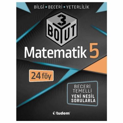 Tudem Yayınları 5.Sınıf Matematik 3 Boyut Beceri Temelli Soru Bankası