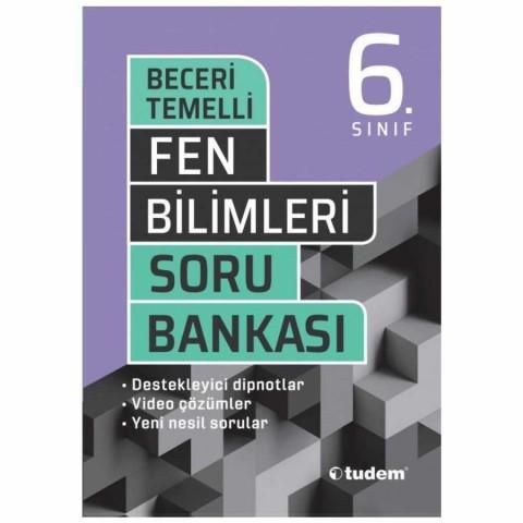 Tudem Yayınları 6. Sınıf Fen Bilimleri Beceri Temelli Soru Bankası