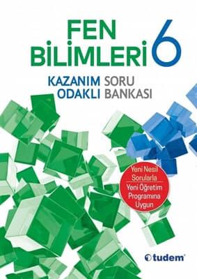 Tudem Yayınları 6.Sınıf Fen Bilimleri Kazanım Odaklı Soru Bankası