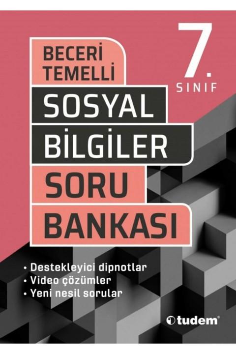 Tudem Yayınları  7. Sınıf Beceri Temelli Sosyal Bilgiler Soru Bankası