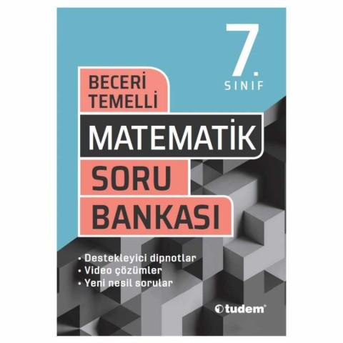 Tudem Yayınları 7. Sınıf Matematik Beceri Temelli Soru Bankası