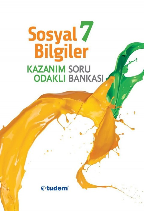 Tudem Yayınları 7. Sınıf Sosyal Kazanım Odaklı Soru Bankası