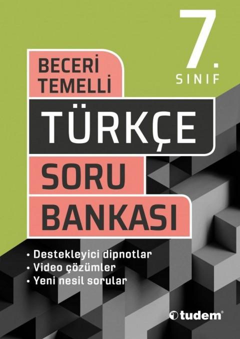 Tudem Yayınları 7. Sınıf Türkçe Beceri Temelli Soru Bankası