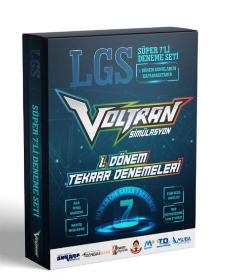 Voltran LGS 1. Dönem Karması - 7 Farklı Yayın 7 Farklı Deneme