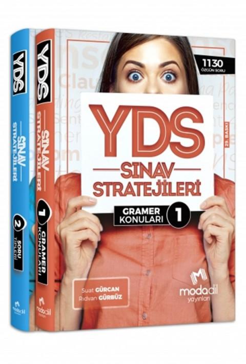 YDS Sınav Stratejileri Konu Anlatımlı 1-2 Modadil Yayınları