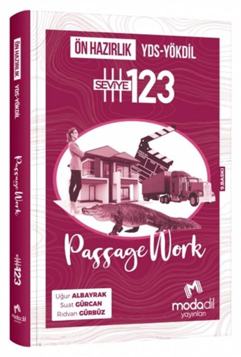 YDS-YÖKDİL Passage Work Ön Hazırlık Seviye 1-2-3 Modadil Yayınları