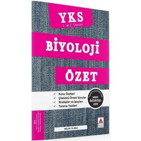YKS 1. ve 2. Oturum Biyoloji Özet Delta Kültür Yayınları