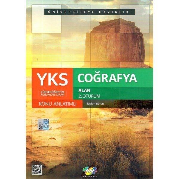 YKS 2. Oturum Coğrafya Alan Konu Anlatımlı FDD Yayınları
