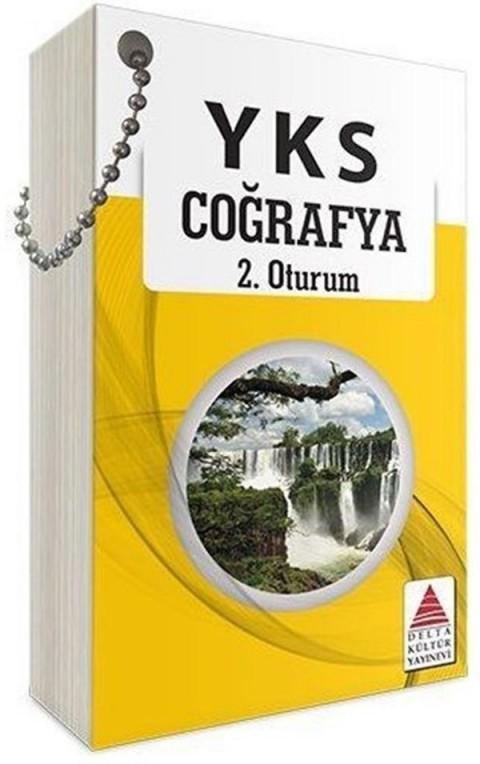 YKS 2. Oturum Coğrafya Kartları Delta Kültür Yayınları