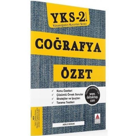 YKS 2. Oturum Coğrafya Özet Delta Kültür Yayınları